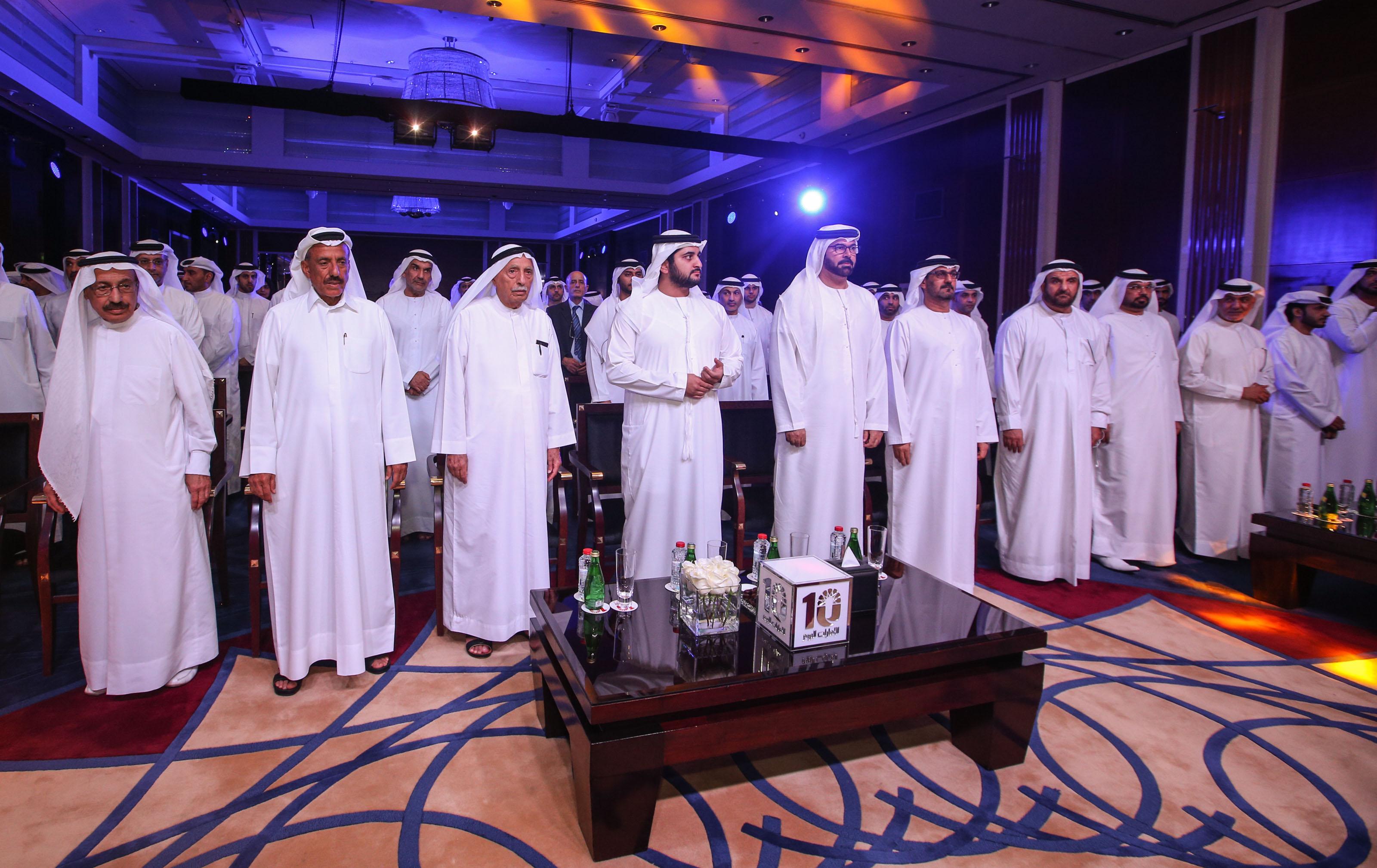 Emarat al youm celebrates its 10th annaversary Dubai. 14 September 2015. Photo by Ashok Verma