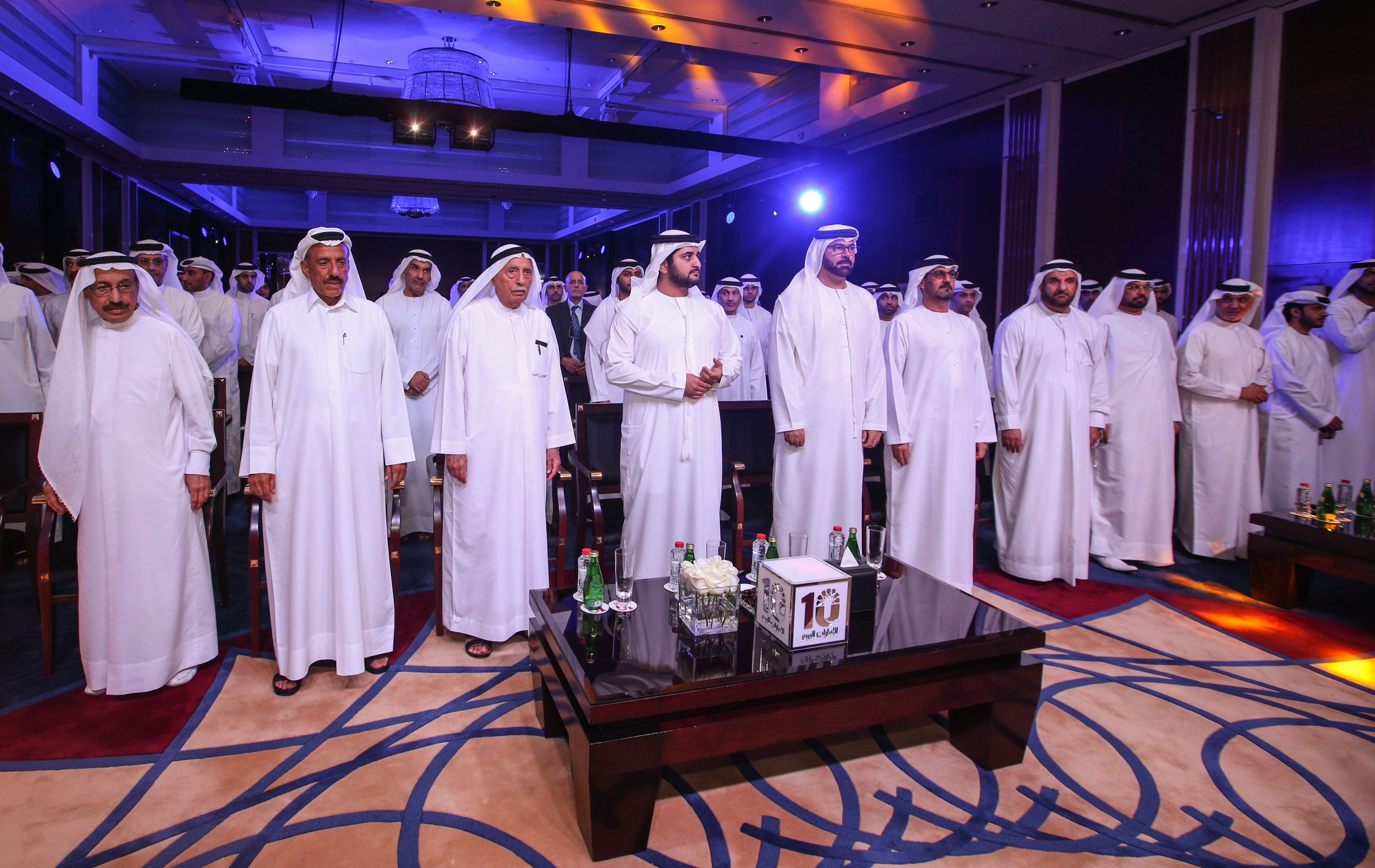 Emarat al youm celebrates its 10th annaversary Dubai. 14 September 2015. Photo by Ashok Verma