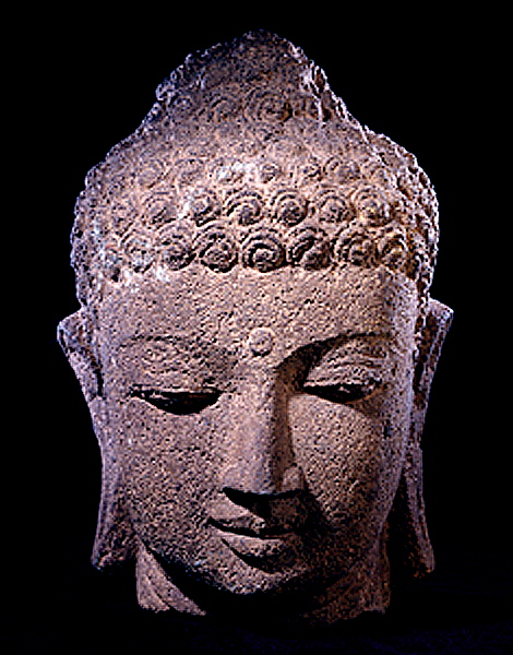 Borobudur_Head_B