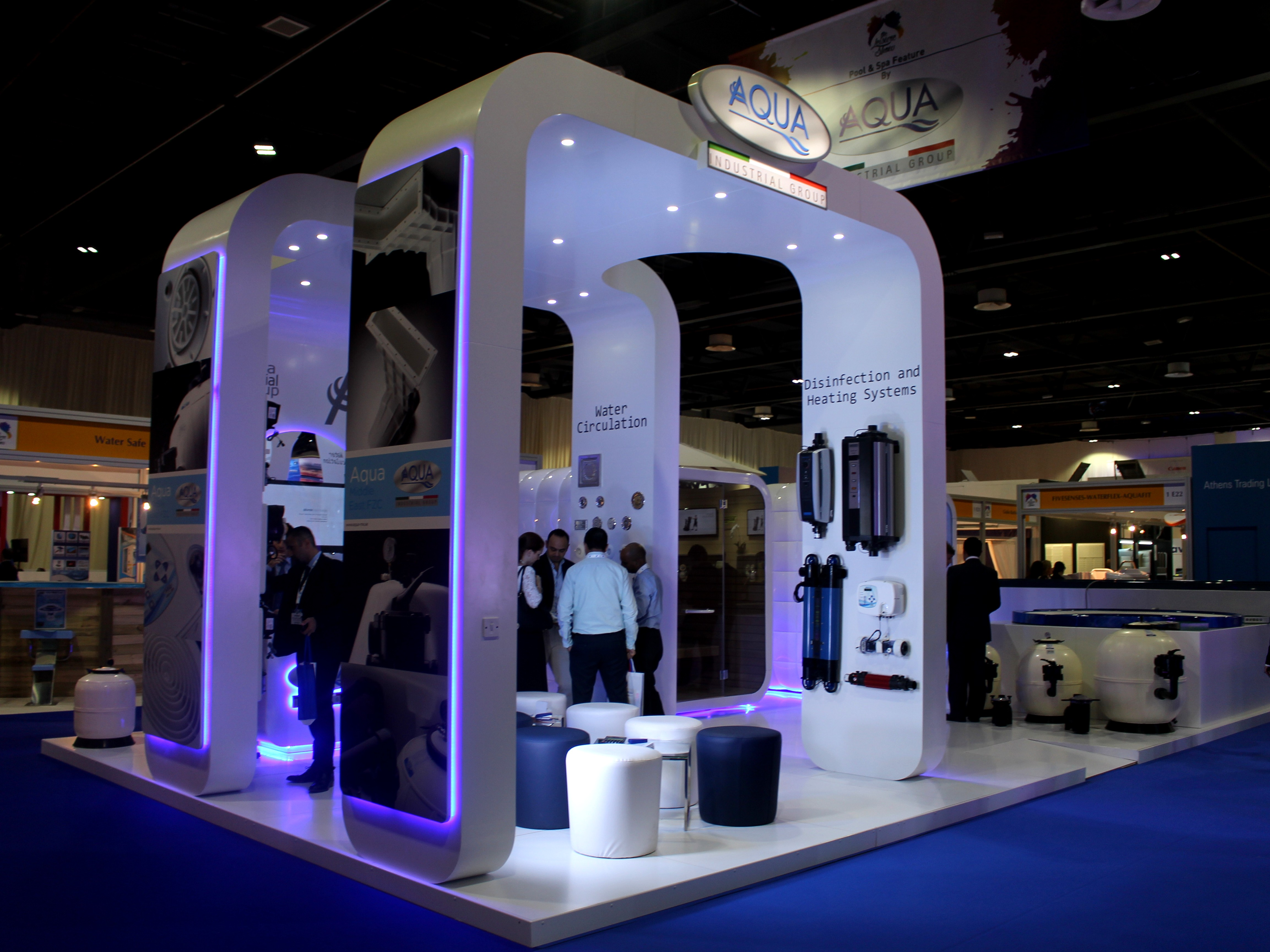 Exhibition Stand Projects : Aqua me artaaj how are you doing