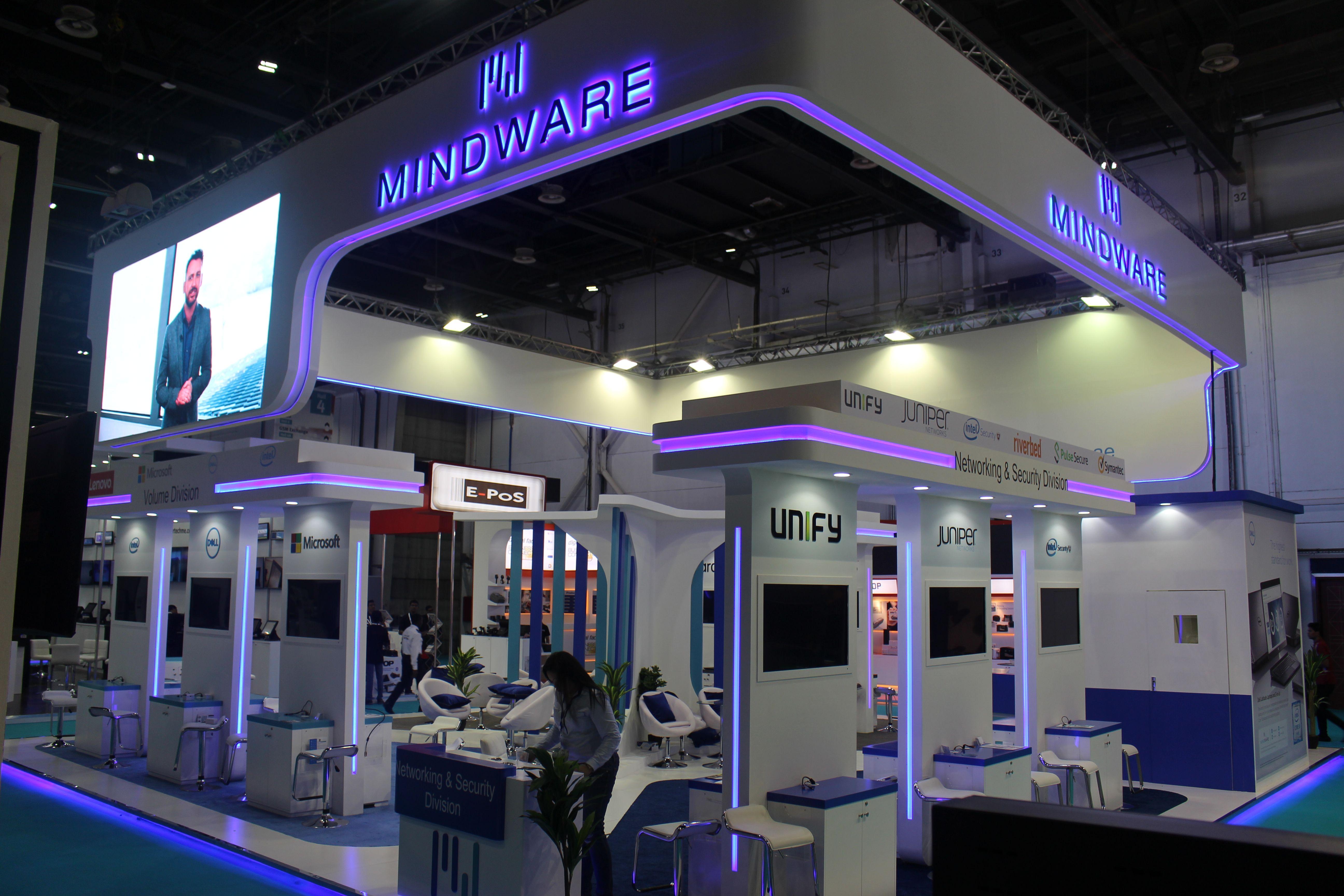 Exhibition Stand Dubai : Mindware at gitex technology artaaj how are you
